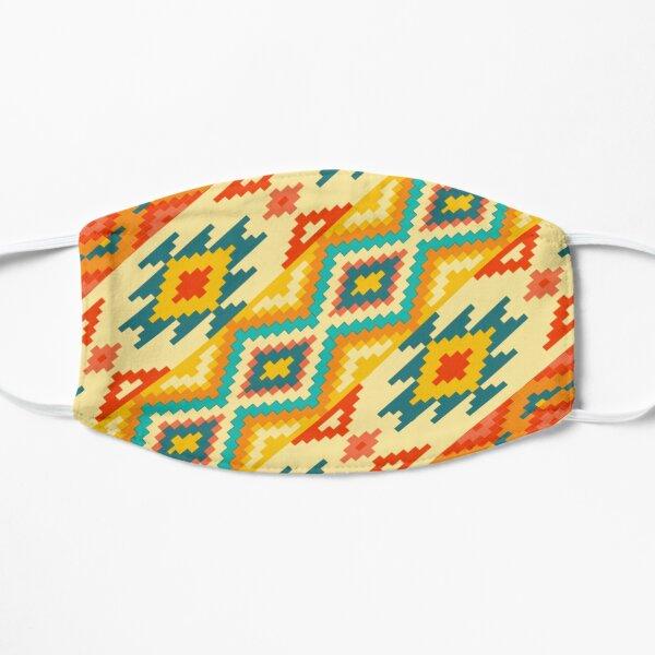 Mexican Handcraft Pattern Flat Mask