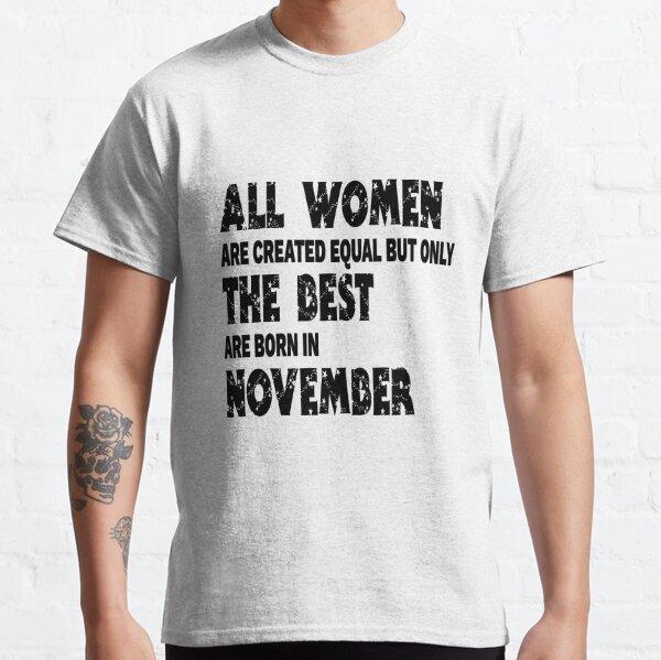 Legenden November Herren T-Shirt Spruch Geburtstag Geschenk Idee Sternzeichen