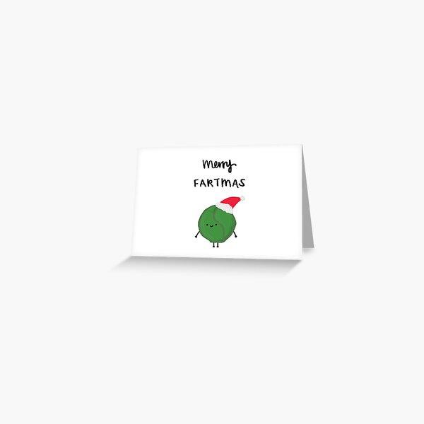 Merry Fartmas Greeting Card
