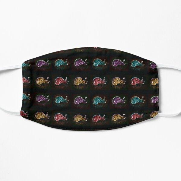 Neon Snail 1 Flat Mask