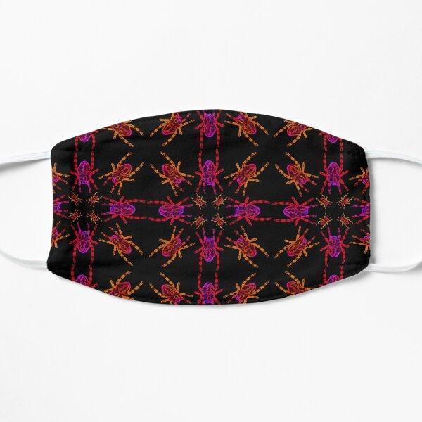 Neon Spider Circle Flat Mask