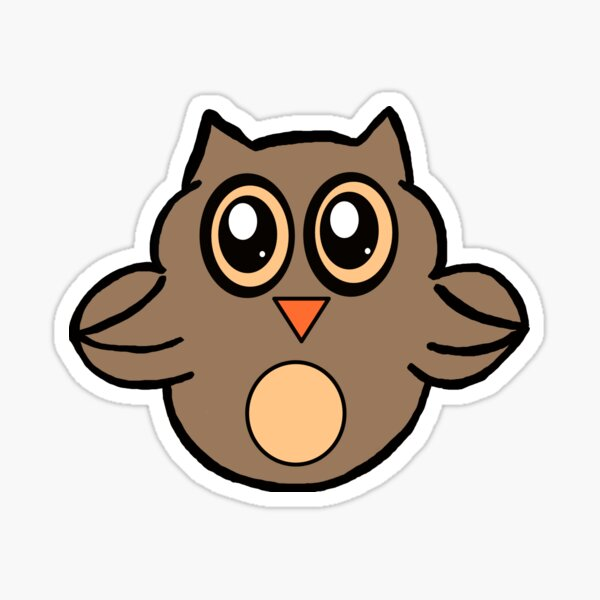 Lil Critters:  Owsley The Owl Sticker