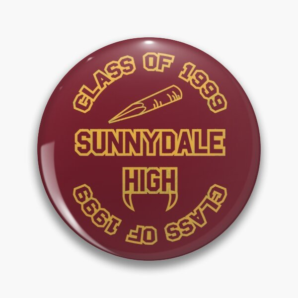 Sunnydale Class of 1999 Pin
