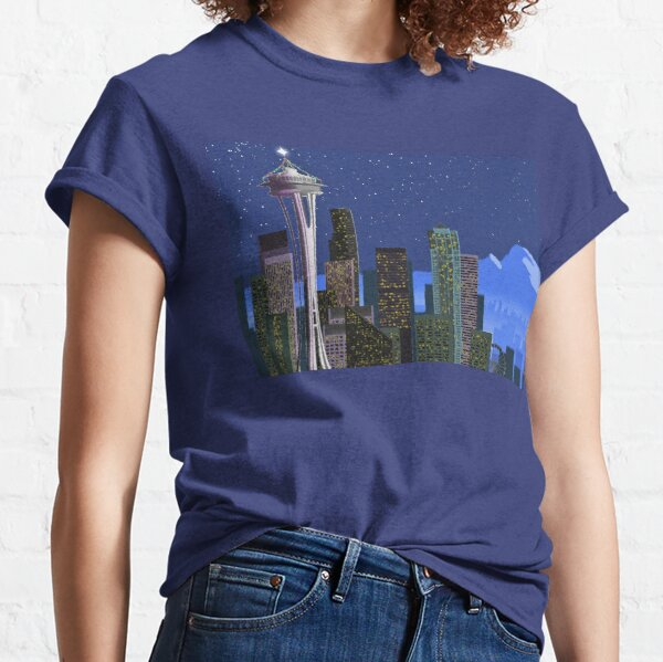 Christmas in Seattle Classic T-Shirt