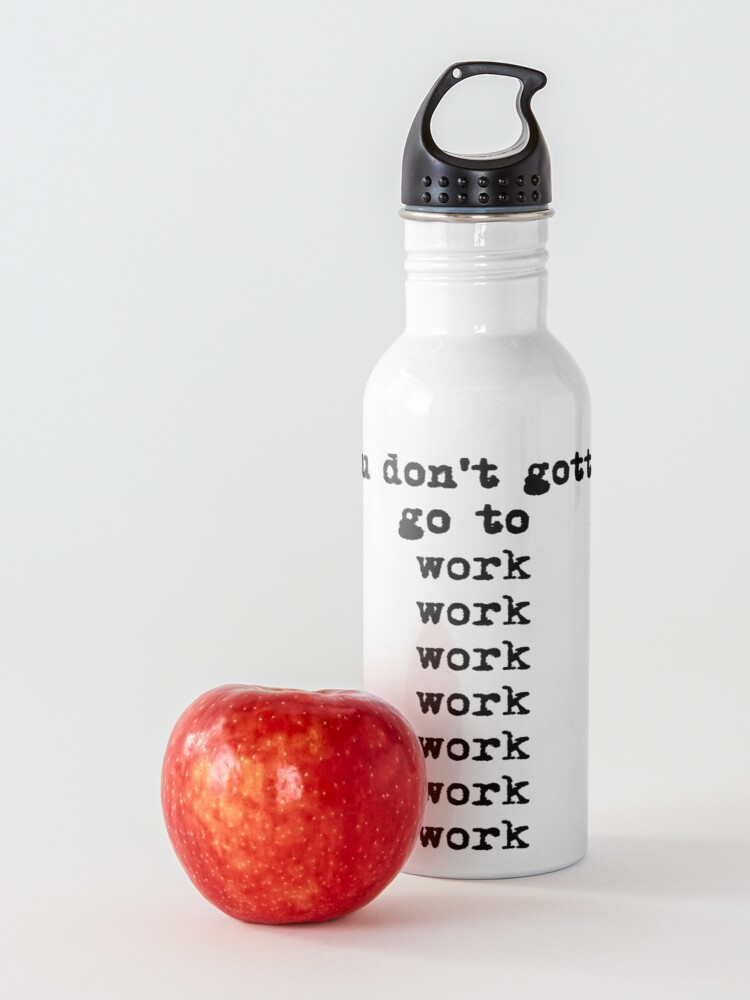 Alternate view of Work From Home Water Bottle
