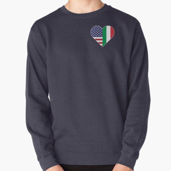 Italian American Love Pullover Sweatshirt