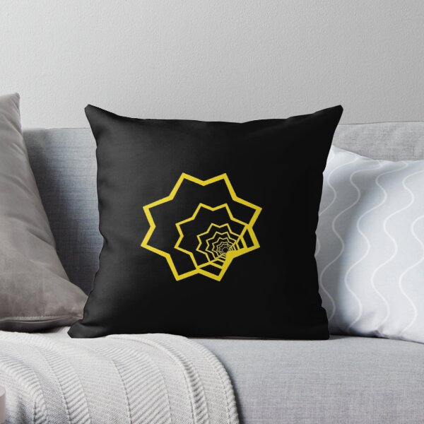 Strange shapes Throw Pillow
