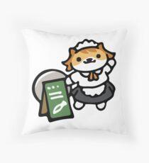Sassy Fran - Neko Atsume Throw Pillow