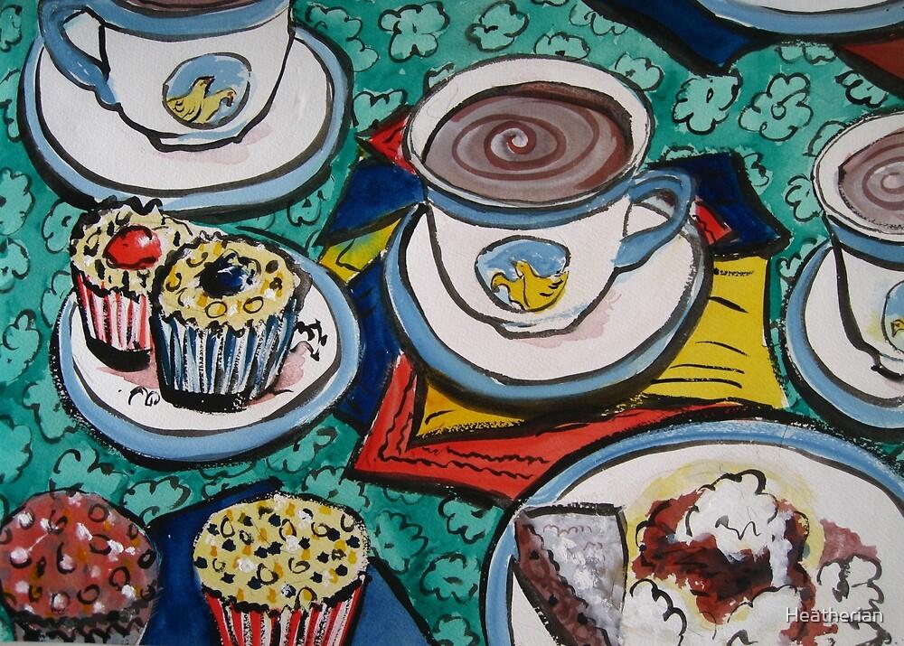 Tea for Three  by Heatherian