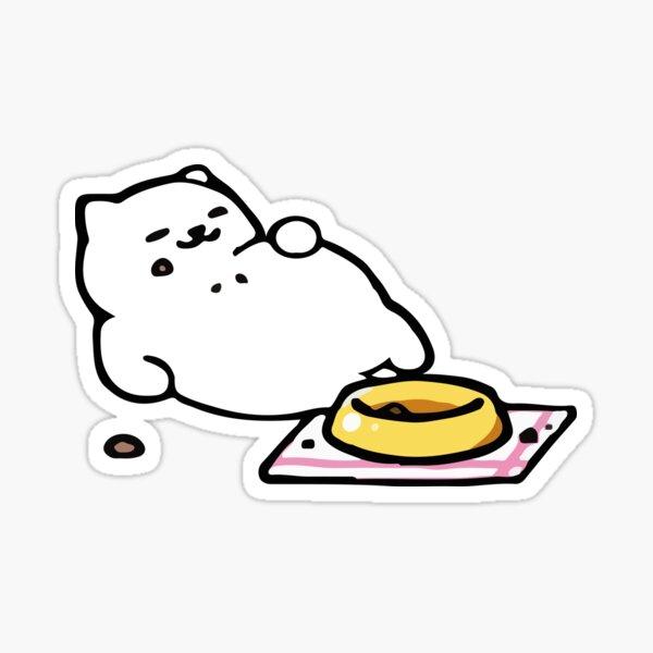 Tubbs - Neko Atsume Sticker