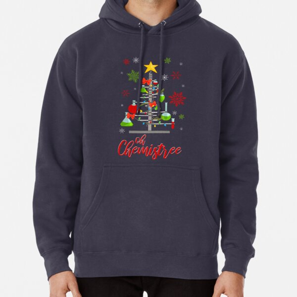 Oh Chemistree Red Pullover Hoodie