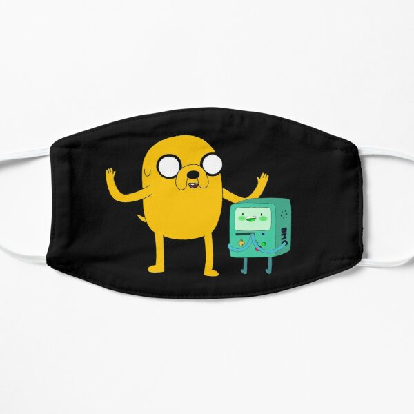 Adventure Time, Jake and BMO Flat Mask