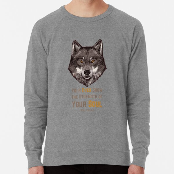 Strength of The Lone Wolf Lightweight Sweatshirt