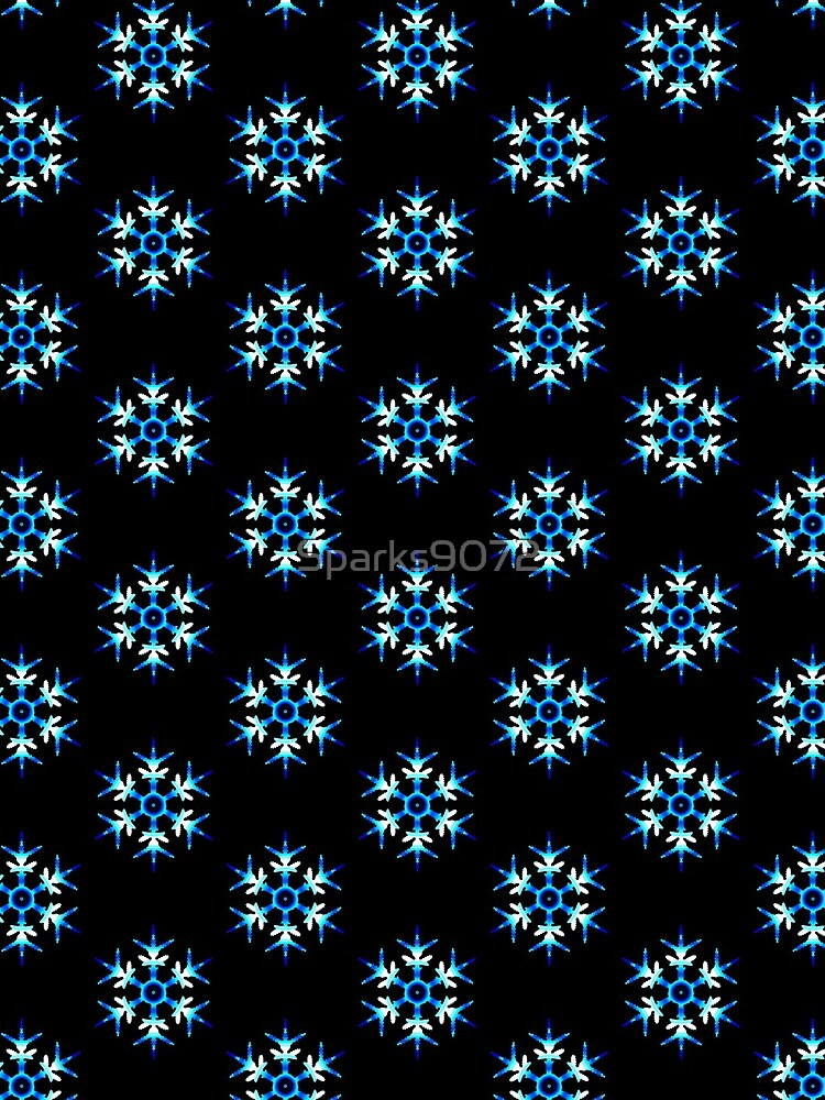 Blue Snowflake by Sparks9072