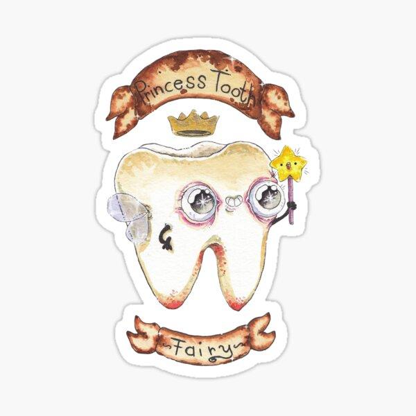 Princess Tooth - Fairy - Sticker