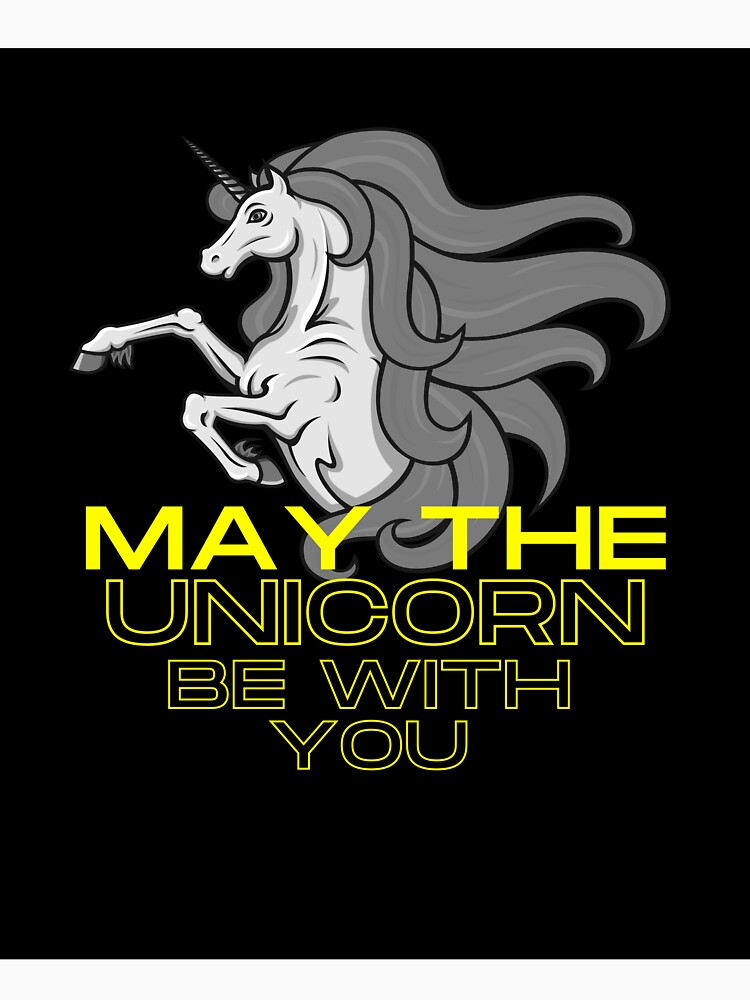 May the Unicorn Be with You by TitanandKO