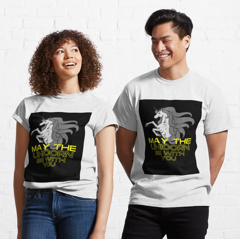 May the Unicorn Be with You Classic T-Shirt