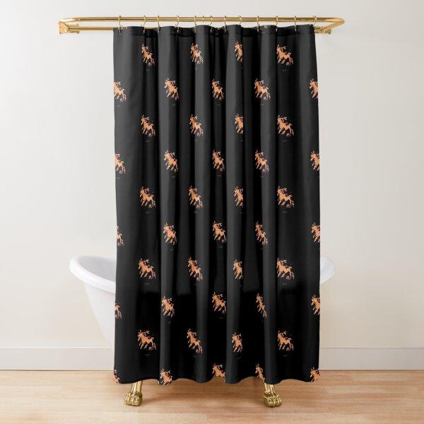 Leafy seadragon Shower Curtain