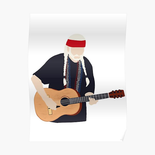 Willie Texas son Nelson Poster