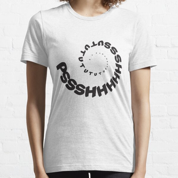 PSHHSUTUTU - Turbo Dose Boost Noise JDM Window Sticker / Tee - Black Essential T-Shirt