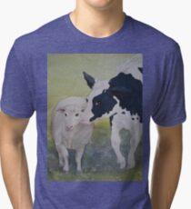 Best of Friends 2 by Heather Holland Tri-blend T-Shirt
