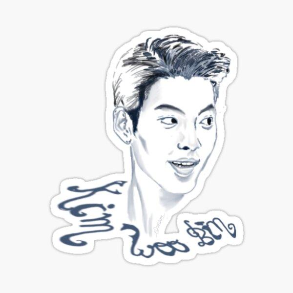 Fangirling with Kim Woo Bin Sticker