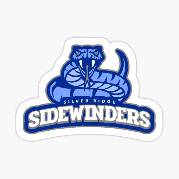 Silver Ridge Sidewinders Football Logo Sticker