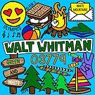 Walt Whitman von Corey Paige Designs