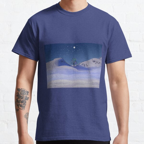 Sycamore Gap Tree in Christmas Classic T-Shirt