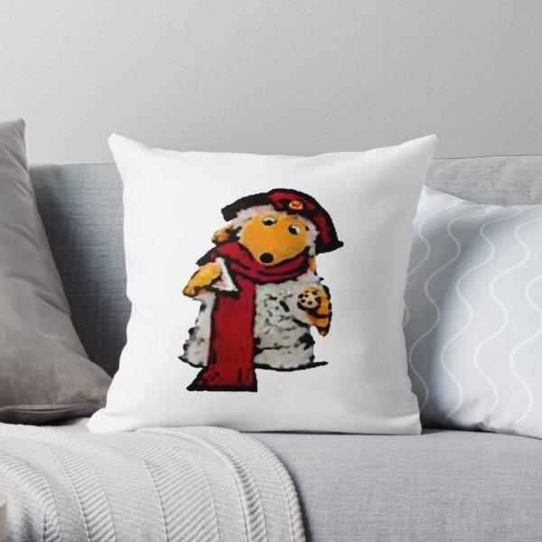 Womble Orinoco Throw Pillow