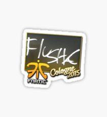 flusha - cologne 2015  Sticker