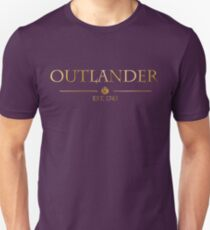 Outlander est 1743 (GOLD) T-Shirt
