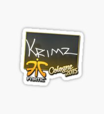 krimz - cologne 2015 Sticker