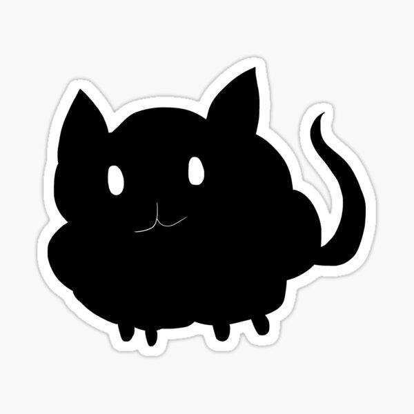 Soot sprite cat Sticker