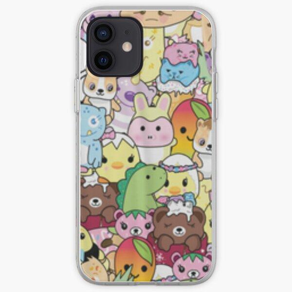 Moriah Elizabeth pickle the dinosaur mashup iPhone Soft Case
