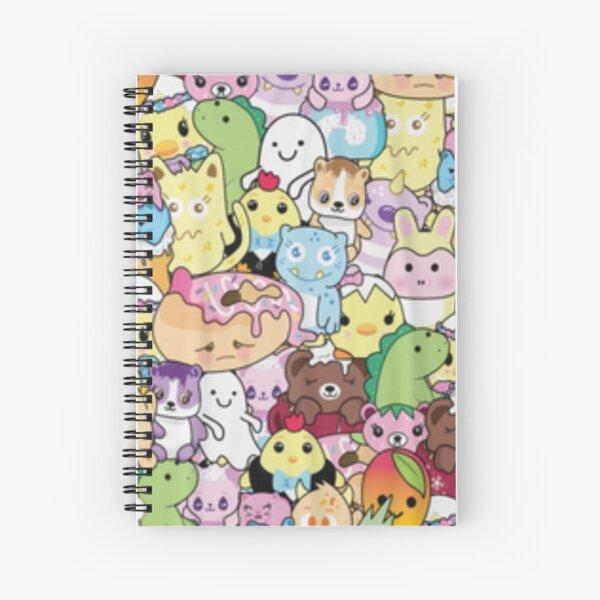 Moriah Elizabeth pickle the dinosaur mashup Spiral Notebook