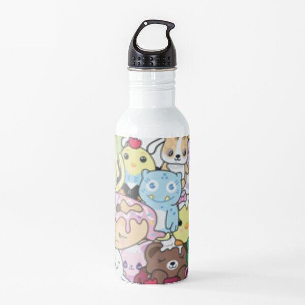 Moriah Elizabeth pickle the dinosaur mashup Water Bottle