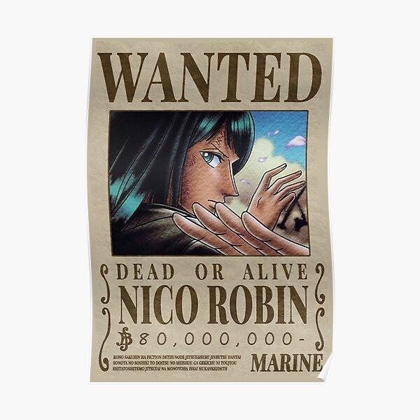 One Piece - Affiche de recherche de Nico Robin 1er Poster