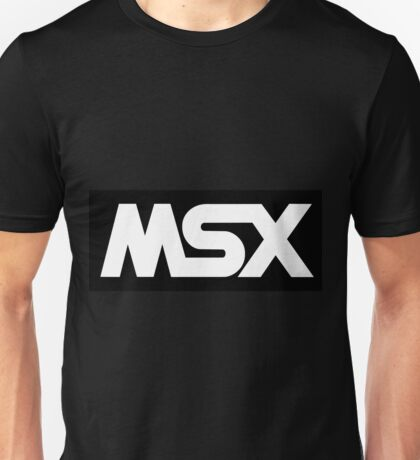 MSX Computers Logo T-shirt for Men or Women - choice of colours