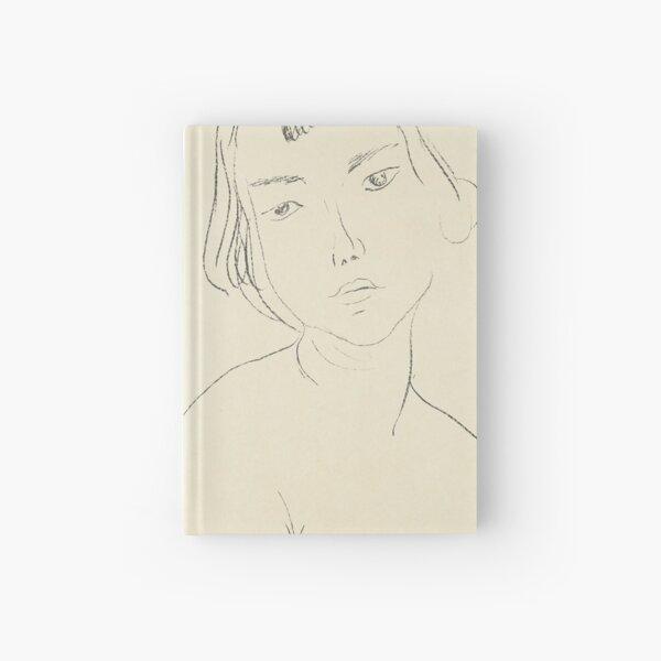 HENRI MATISSE - Visage légèrement penché vers la gauche Hardcover Journal