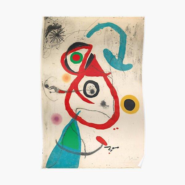 Peinture de Joan Miró Poster