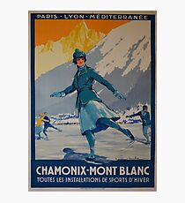 public-domain-images-the-first-winter-olympics- Photographic Print