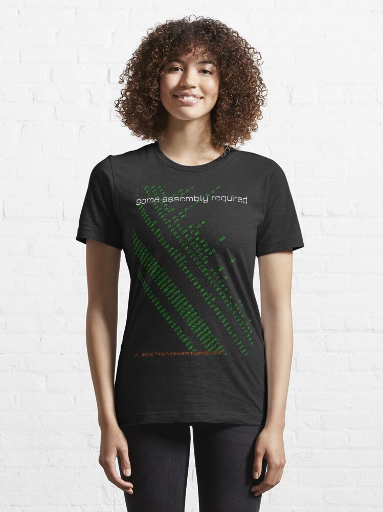 Alternate view of Some assembly required (arm) Essential T-Shirt