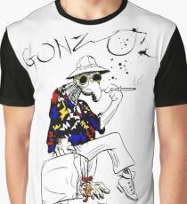 Gonzo- Fear and Loathing in Las Vegas parody Graphic T-Shirt