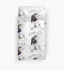 Gonzo- Fear and Loathing in Las Vegas parody Duvet Cover