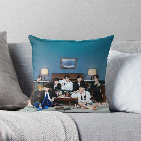 BTS BE Concept Photo Throw Pillow