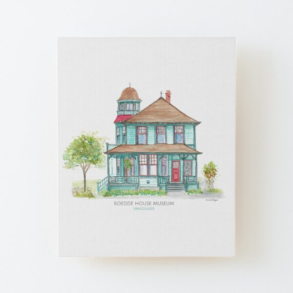 Roedde House Museum - Vancouver Wood Mounted Print