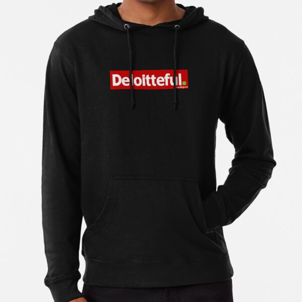 Deloitteful. Lightweight Hoodie