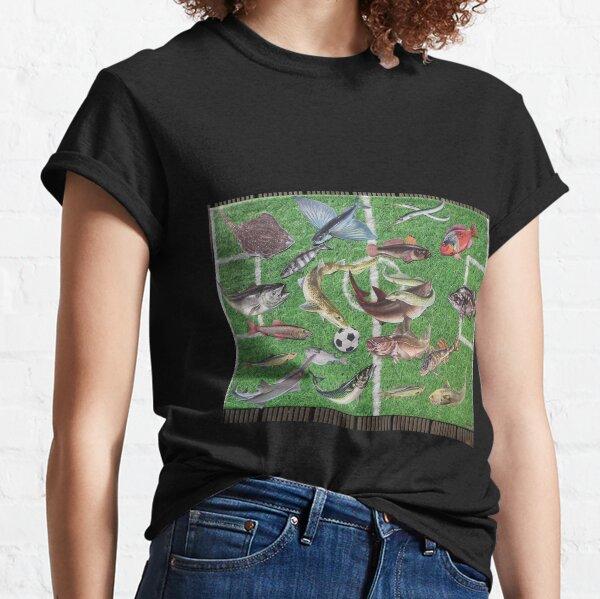 Fish Soccer Fisherman Gift Classic T-Shirt