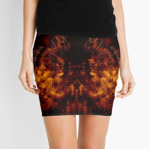 Visions Of The Mothman Mini Skirt
